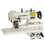 Reliable MSK-755 Blindstitch Sewing Machine with Skip-Stitch Function and Sewquiet Servomotor