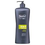 Suave Men 3-in-1 Shampoo, Conditioner and Body Wash