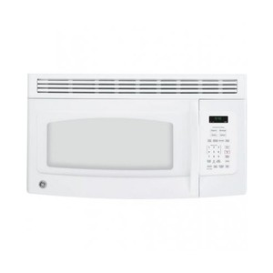 Spacemaker Over-the-Range Microwave Oven with Recirculating Vent in White
