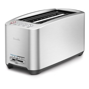 Breville Die-Cast 4-Slice Long Slot Smart Toaster