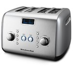 KitchenAid 4-Slice Toaster, Contour Silver