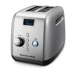 KitchenAid 2-Slice Toaster, Countour Silver