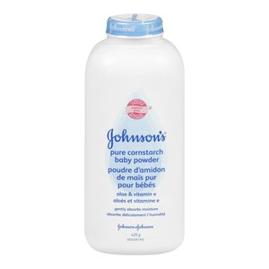 Johnson's Pure Cornstarch Baby Powder - Aloe Vitamin E