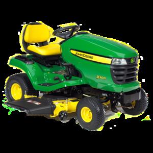 John Deere X300 42-Inch Deck Select Series Riding Lawn Mower