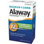 Bausch + Lomb Alaway Allergy Eye Itch Relief Drops