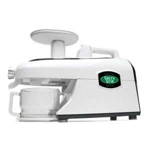 Green Star Elite Deluxe Jumbo Twin Gear Juice Extractor with Pasta Maker Set (GSE-5300)