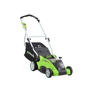 GreenWorks 25242 40-Volt 4 Amp-Hour Lithium-Ion 16-Inch Cordless Lawn Mower (Discontinued by Manufacturer)