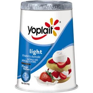 Yoplait Light Yogurt - Strawberry Shortcake