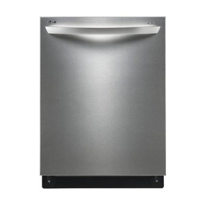 LG LDF7561 Fully Integrated Dishwasher with Height-Adjustable 3rd Rack, Stainless Steel