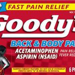 Goody's Back & Body Pain Relief Powder