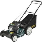 Yard-Man 12A-B29Q701 21-Inch 160cc Honda GCV Mulch/Side Discharge/Bagging Gas Powered Self Propelled Lawn Mower with High Rear Wheels (Discontinued by Manufacturer)