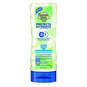 Banana Boat Protect and Hydrate Sunscreen Lotion