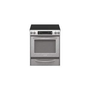Kitchenaid KESS907SWW True Convection Oven Glass Cooktop Front Control Knobs Architect Series II