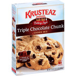 Krusteaz Bakery Style Triple Chocolate Chunk Cookie Mix