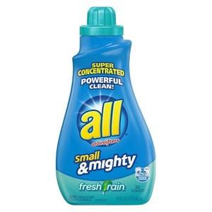 All Small & Mighty Liquid Laundry Detergent Fresh Rain