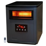 Lifesmart 1500 Square Foot 6 Element Infrared Heater w/Remote