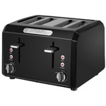 Waring CTT400BK Professional Cool Touch 4-Slice Toaster, Black