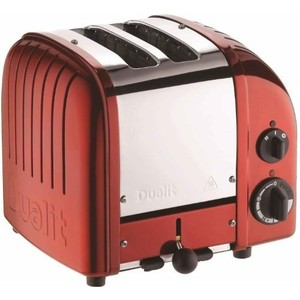 Dualit 2 Slice Classic Toaster, Apple Candy Red