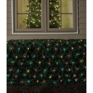 GE Christmas Net Light - Multi, 150 lt.