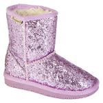 Bearpaw Girl's Cheri Pink/Glitter Mid-Calf Fashion Boot