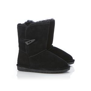 Bearpaw Toddler Girl's Abigail Black Winter Boot