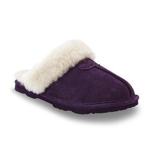 Bearpaw Women's Loki II Winterberry Plush Clog Slipper