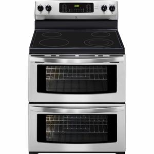 Kenmore 7.2 cu. ft. Double-Oven Electric Range - Stainless Steel
