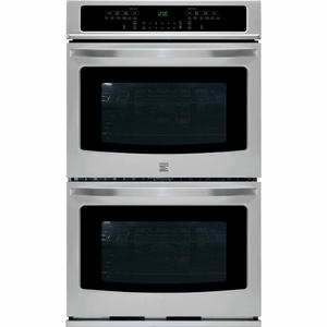 """Kenmore 30"""" Self-Clean Double Electric Wall Oven w/ Convection - Stainless Steel"""