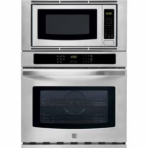 """Kenmore 30"""" Electric Combination Wall Oven - Stainless Steel"""