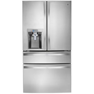 Kenmore Elite 30 cu.ft. 4-Door Bottom-Freezer Refrigerator w/Dispenser