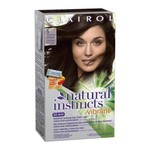 Clairol Natural Instincts Vibrant Permanent Hair Color 5, Coffee Boost, Medium Brown 1 Kit