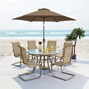 Garden Oasis Long Beach 7pc Patio Dining Set