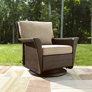 Ty Pennington Style Parkside Swivel Glider Chair *Limited Availability