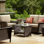 Ty Pennington Style Parkside 4 Piece Deep Seating Set