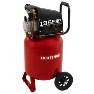 Craftsman 10 Gallon 135PSI oil-lube portable air compressor