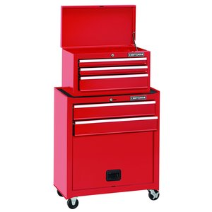 Craftsman 5-Drawer Standard Duty Ball-Bearing Tool Center - Red