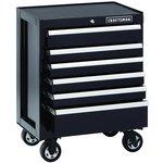 Craftsman 6-Drawer Premium Heavy-Duty Rolling Cabinet - Black