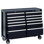 Craftsman 52-Inch 12-Drawer Premium Heavy-Duty Rolling Cabinet- Black