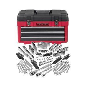 Craftsman 182 pc. Mechanics Tool Set with 3-Drawer Chest