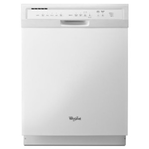 """Whirlpool WDF550SAAW 24"""" White Full Console Dishwasher - Energy Star"""