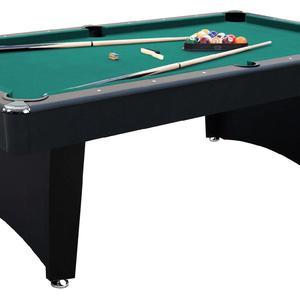 MD Sports Fulton 7 ft. Billiard Table with Bonus Cue Rack