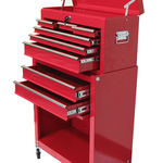 Excel 24 in. Tool Chest and Roller Cabinet Combination