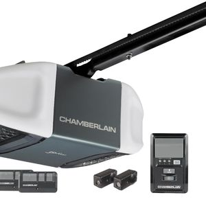 Chamberlain 1/2 HP Belt Drive Garage Door Opener WD832KEV with MyQ enabled (MyQ sold separately)