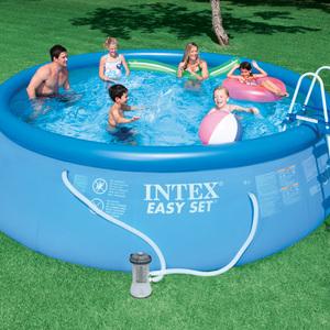 Intex 15 ft. x 48 in. Easy Set® Pool Package