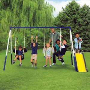 Sportspower Grove Park 4-Leg Metal Swing Set