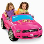 Power Wheels Barbie Ford Mustang - Pink