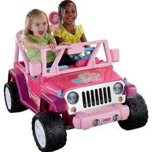 Power Wheels Barbie™ Jammin' Jeep® Wrangler