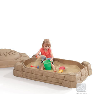 Step 2 Naturally Playful Sand Box