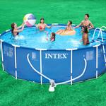 Intex 15ft x42in Metal Frame Pool Package
