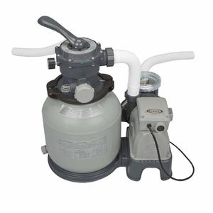 """Intex 12"""" Sand Filter Pump with GFCI System, 2100-Gallon for Above Ground Pools"""